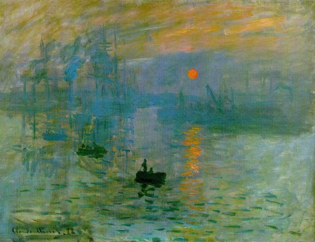 Claude Monet, soleil levant, 1872