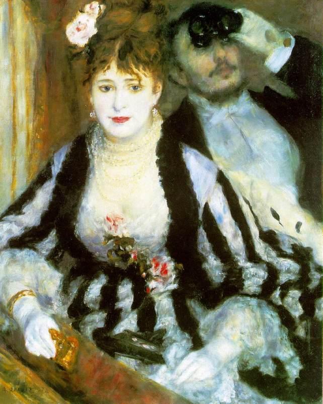 Pierre-Auguste Renoir, La loge (The Theater Box)