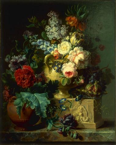 Cornelius van Spaendonck, Still Life of Flowers