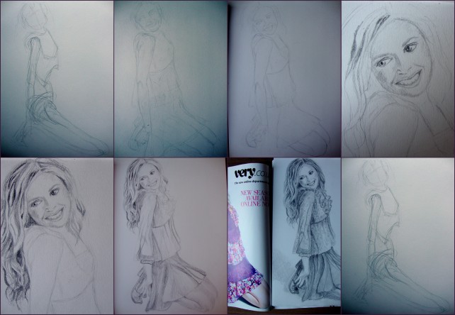Figure Studies -4 (stages)