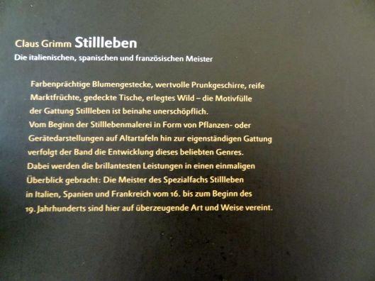 Claus Grimm Stillleben - Die Italienischen, Spanischen und Französischen Meister