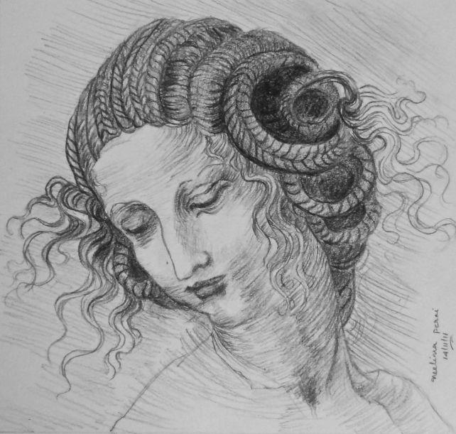 Study of Da Vinci's Leda