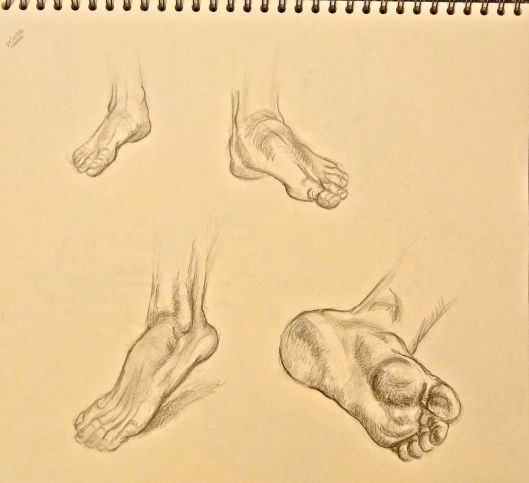 Feet Studies (Glenn Vilppu)