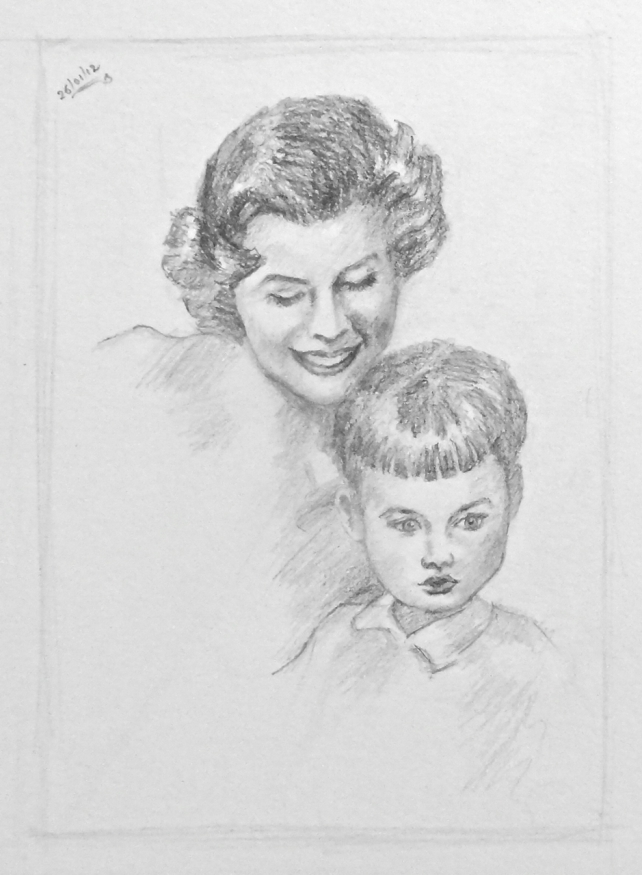 Head Studies from Andrew Loomis Portrait Drawings