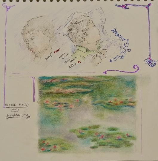 Monet Study , Nympheas