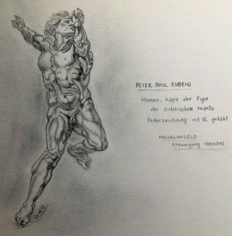 Ruben's Haman Study