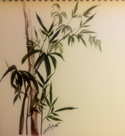Chinese painting – Bamboo