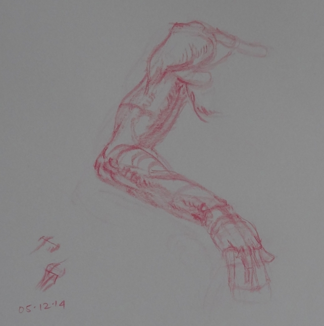 arm study from Vilppu