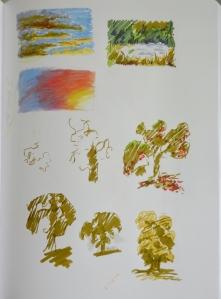 Random sketchbook pages