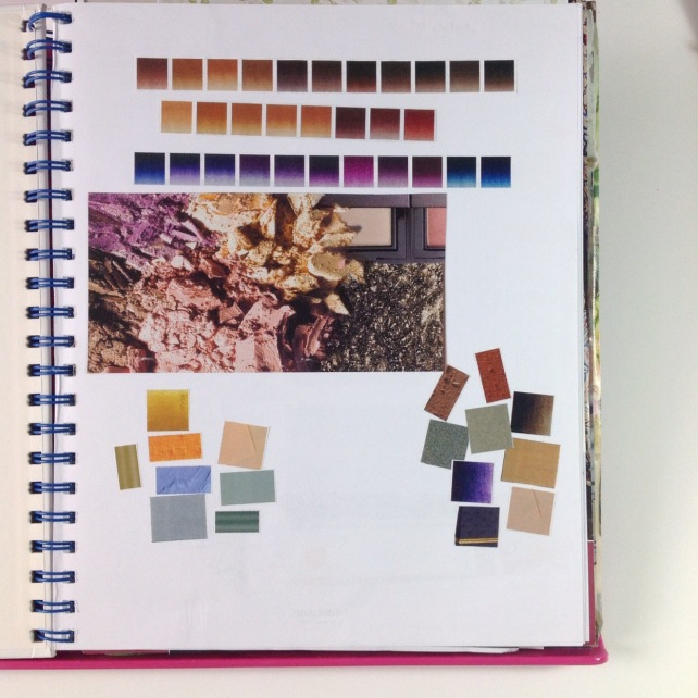 Color inspiration book