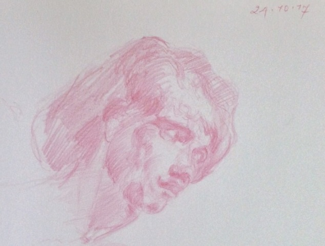 Head study from Velazquez