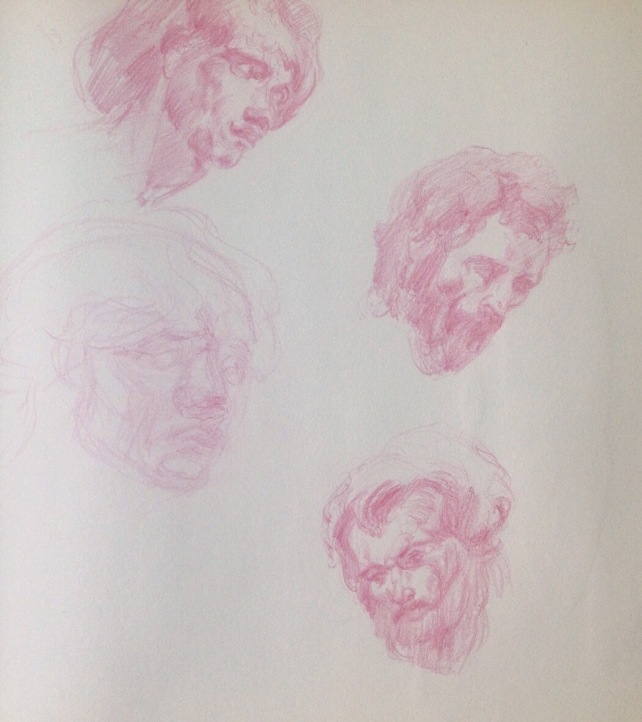 Van Dyke head studies