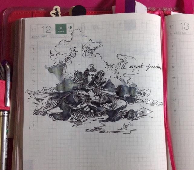 Ganesha sketch